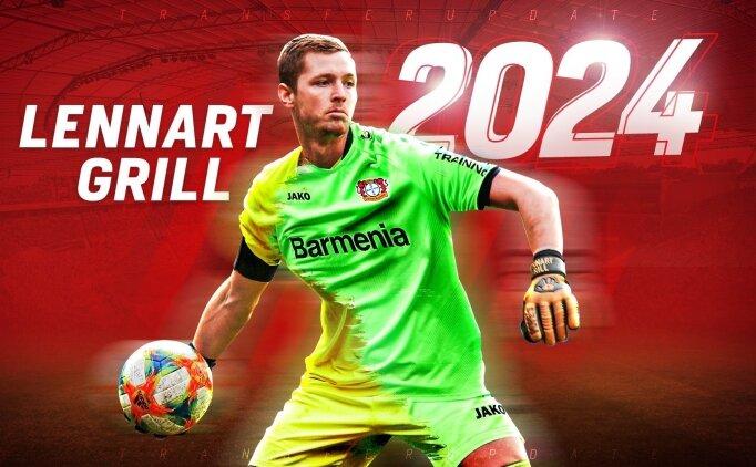 Bayer Leverkusen, kaleci Lennart Grill'i transfer etti