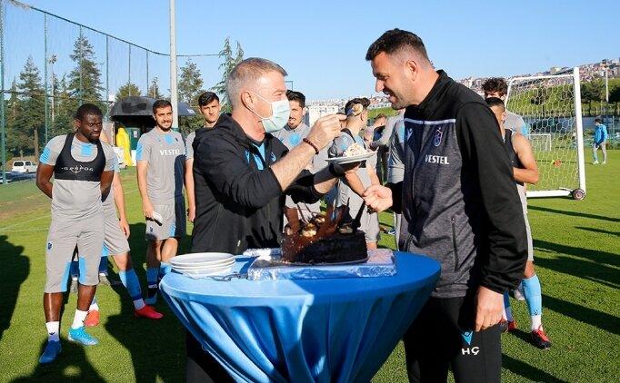 Ahmet Ağaoğlu, takımla kampa girdi!
