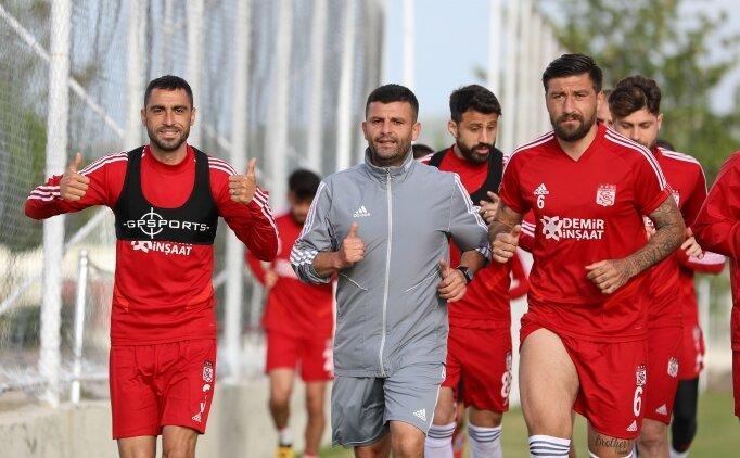 Sivasspor zorlu maça hazırlanıyor