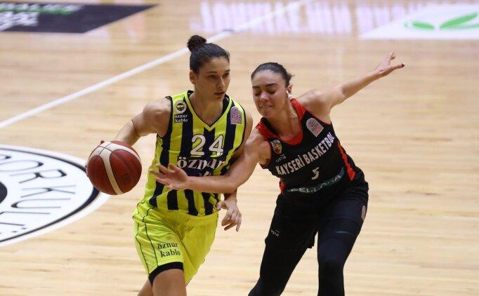 Fenerbahçe Öznur Kablo, 6'da 6 yaptı