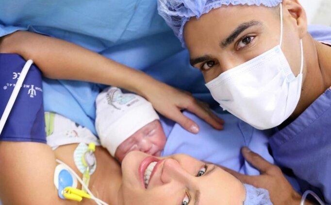 Radamel Falcao, dördüncü kez baba oldu