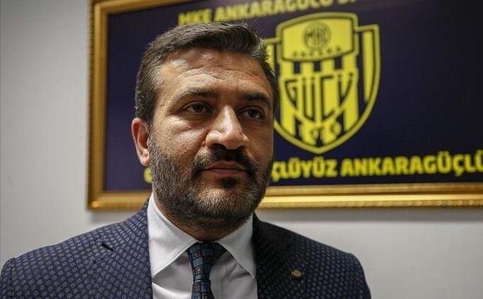Ankaragücü Başkanı Mert: 'Şaibe olurdu'