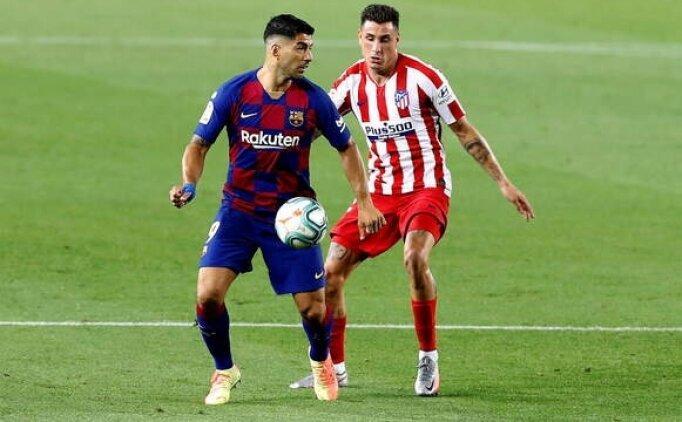Atletico Madrid Barcelona'ya büyük zirve çelmesi taktı!