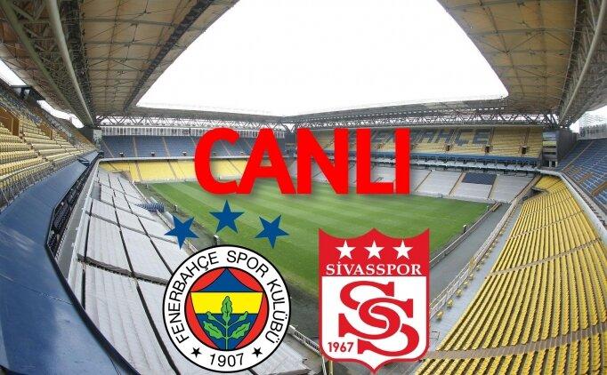 Fenerbahçe Sivasspor canlı izle, (FB Sivas bein)