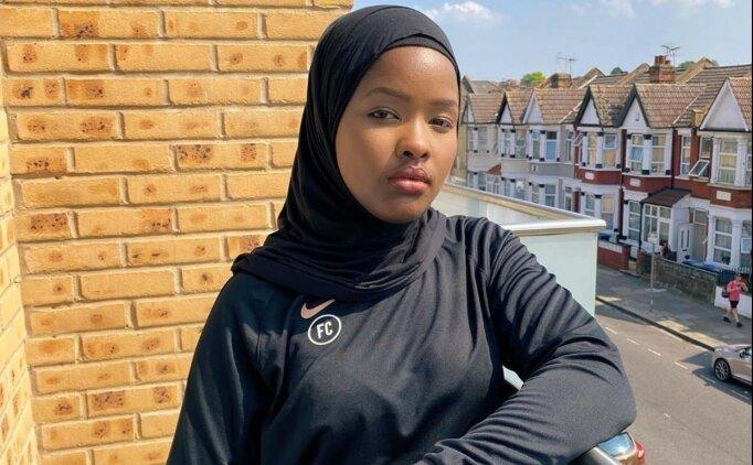 İngiltere'nin ilk Müslüman kadın hakemi, gözünü Premier Lig'e dikti