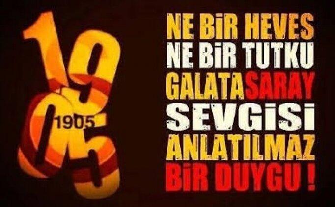 Galatasaray için en güzel sözler, Resimli Galatasaraylı mesaj (16 Ocak Cumartesi)