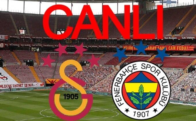 İZLE Galatasaray Fenerbahçe maçı şifresiz, Galatasaray Fenerbahçe CANLI