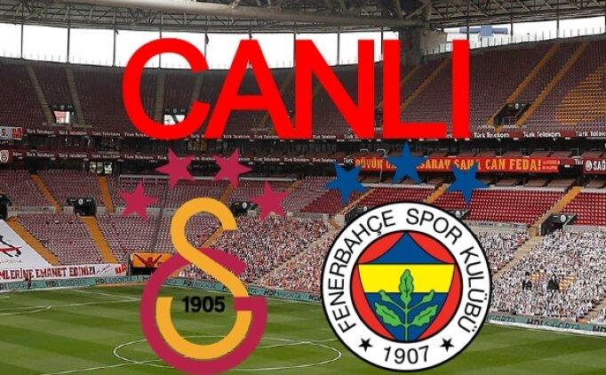 Galatasaray Fenerbahçe şifresiz İZLE, FB GS maçı kaç kaç?