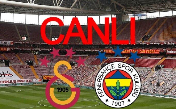 Galatasaray Fenerbahçe maçı canlı izle kesintisiz donmadan