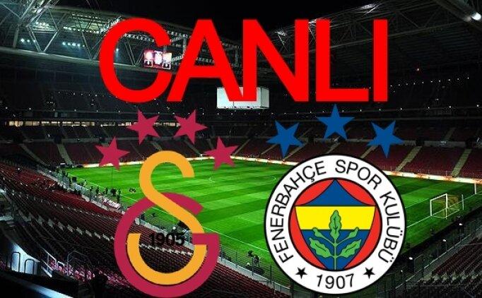 Galatasaray Fenerbahçe izle canlı, FB GS maçı canlı canlı