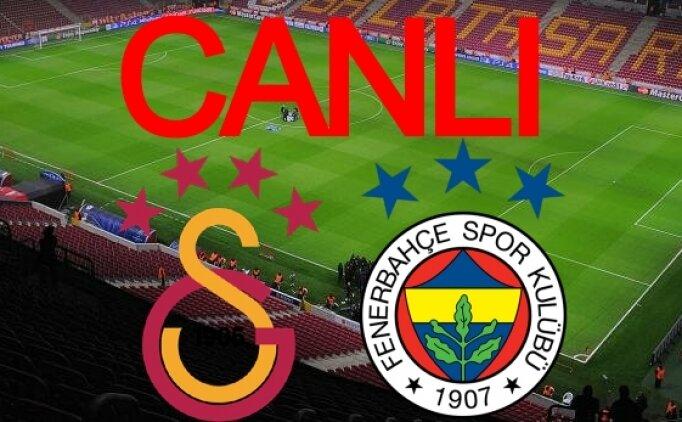 Galatasaray Fenerbahçe derbi maçı canlı yayın [27 Eylül 2020]