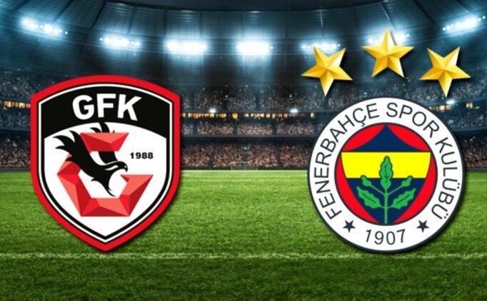 Gaziantep Fenerbahçe maçı İZLE, CANLI Gaziantep Fenerbahçe maçı burada