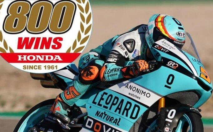 Honda, MotoGP'de 800'üncü Grand Prix zaferine ulaştı