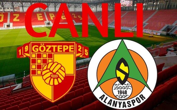 Göztepe Alanyaspor CANLI İZLE, Şifresiz Alanyaspor Göztepe maçı izle