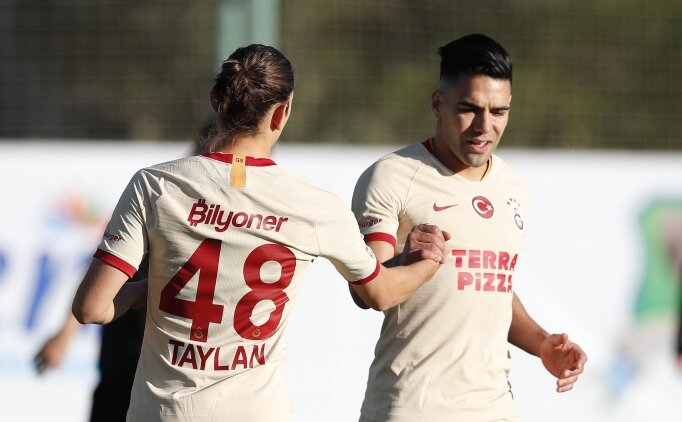 Galatasaray, hazırlık maçında rahat kazandı