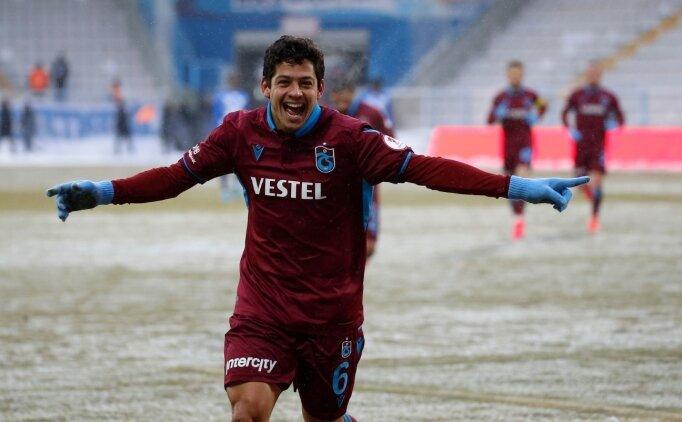 Trabzonspor'da Guilherme sevinci