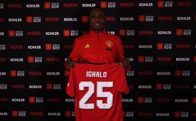 Odion Ighalo, 8 ay daha Manchester United'da