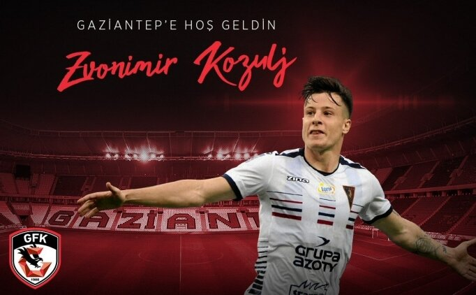 Gaziantep FK'ya Bosnalı orta saha