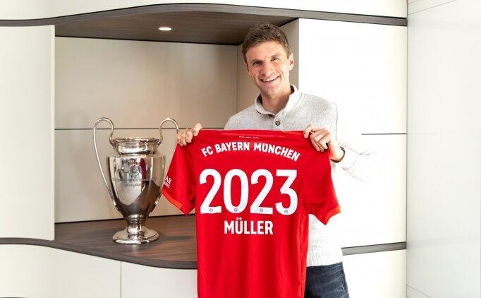 B.Münih boş durmadı, Müller'in sözleşmesini uzattı