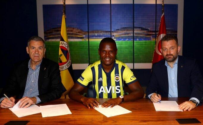 Mbwana Samatta: 'Fenerbahçe çok büyük, kupa kazanmaya geldim'