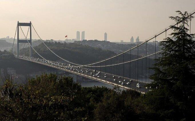 İstanbul'da köprülerden geçen araç sayısı açıklandı