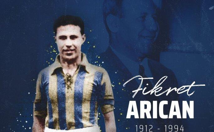 Fenerbahçe, Fikret Arıcan'ı andı