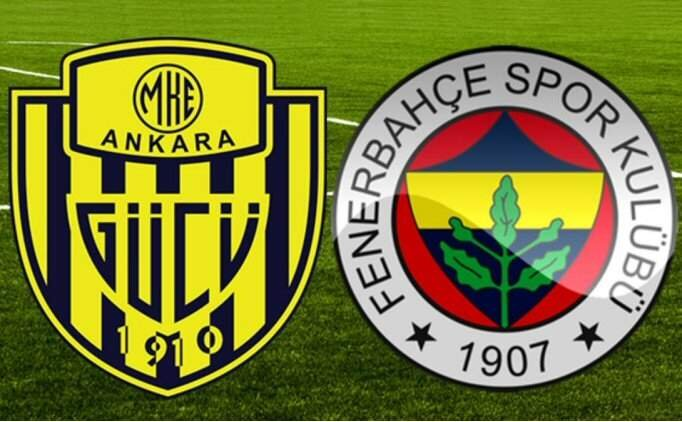 Canlı maç izle, Ankaragücü Fenerbahçe maçı şifresiz! Ankaragücü FB canlı skorlar