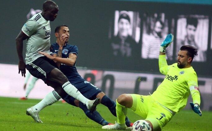Beşiktaş, Kasımpaşa'yı devirdi! Seriye devam etti