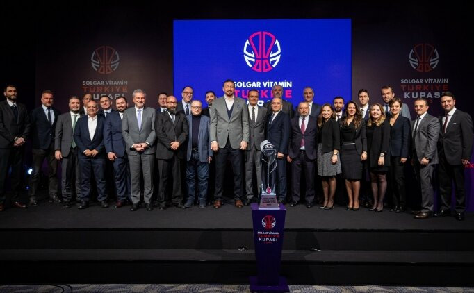 Basketbolda Erkekler Türkiye Kupası'nda eşleşmeler belli oldu