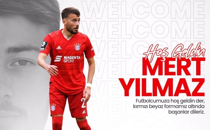Fraport TAV Antalyaspor, Mert Yılmaz'ı transfer etti