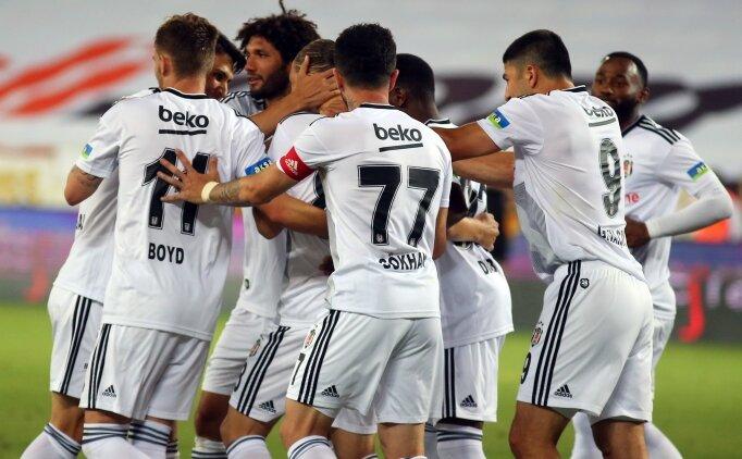Beşiktaş, Şampiyonlar Ligi için Yeni Malatyaspor'u da yıktı