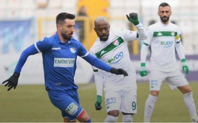 Bursaspor kritik virajda 'yara aldı'