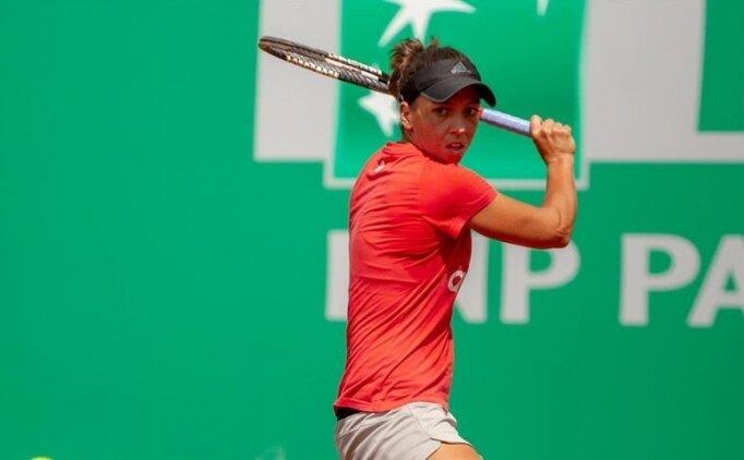 Milli tenisçi Pemra Özgen, Fransa Açık'ta ana tabloya kalamadı