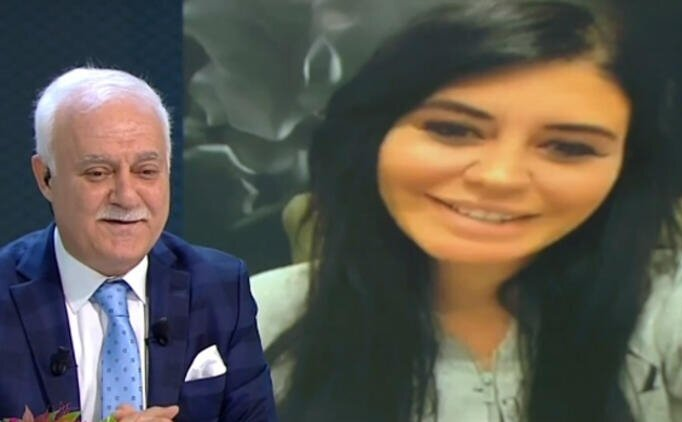 Ebru Polat, Nihat Hatipoğlu'na video ile soru sordu