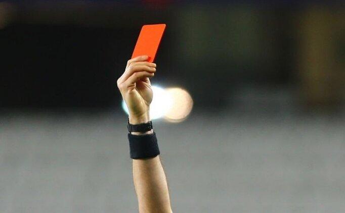 Kasıtlı öksüren futbolcuya 'kırmızı kart' kararı