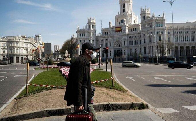 İspanya'da koronavirüsten günlük en yüksek ölü sayısına ulaşıldı