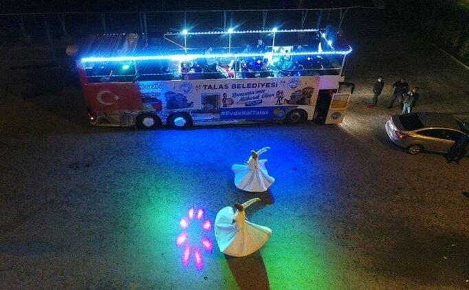 Ramazan sokağı otobüse taşındı