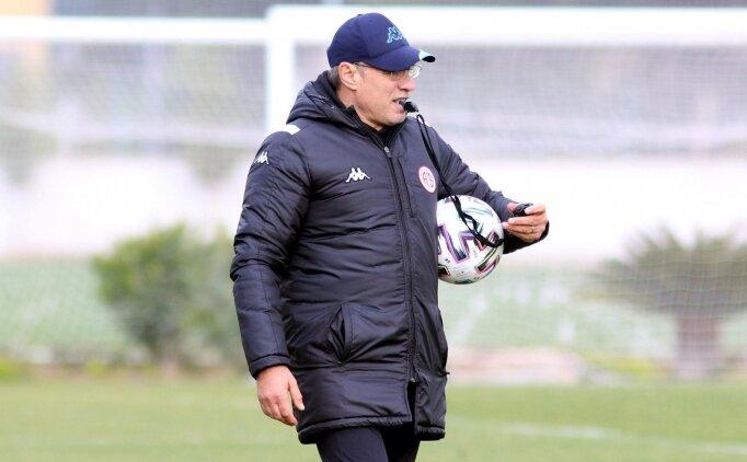 Ersun Yanal'lı Antalyaspor'un yeni hedefi