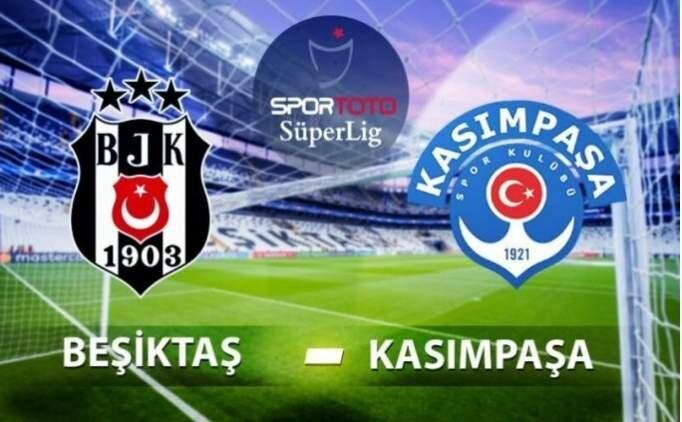 Beşiktaş Kasımpaşa maçı CANLI bedava İZLE şifresiz, BJK maçı canlı izle