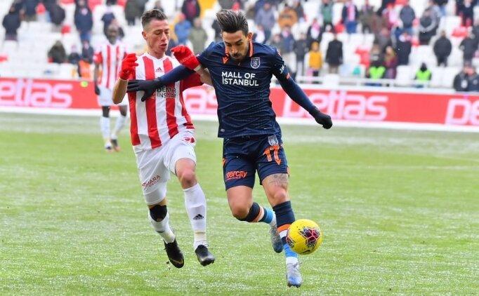 Başakşehir attı, Sivasspor yakaladı ve yine lider oldu