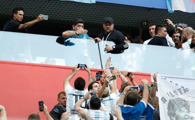 'Messi, Maradona'nın topuklarına bile ulaşamaz'