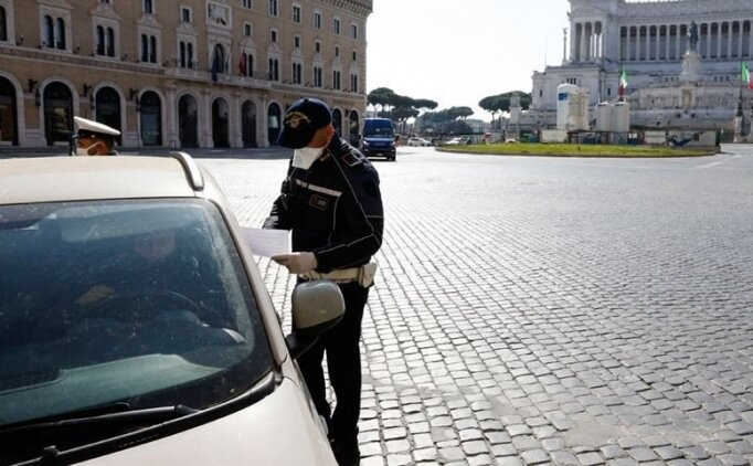 İtalya'da Kovid-19 karantinası 10 gün uzatıldı