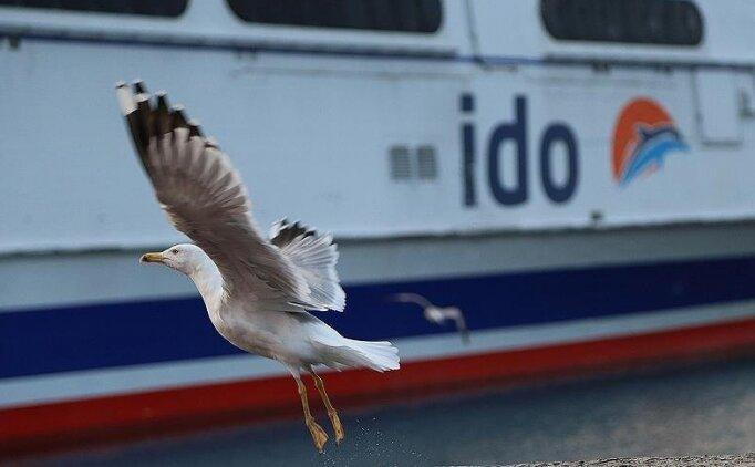 İstanbul'da feribot ve deniz otobüsü seferleri durduruldu