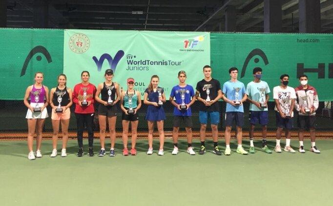 Genç tenisçilerden İstanbul'da 3 şampiyonluk, 1 ikincilik