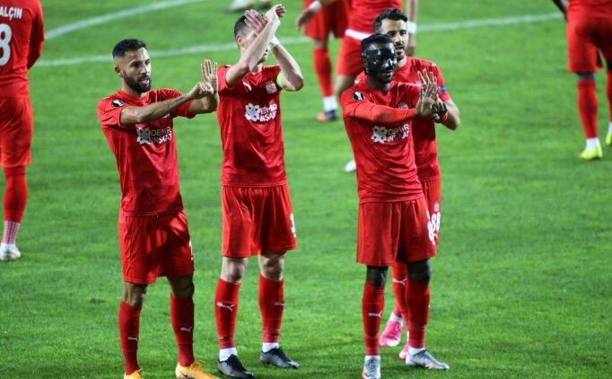 Sivasspor'dan ülke puanı için önemli galibiyet