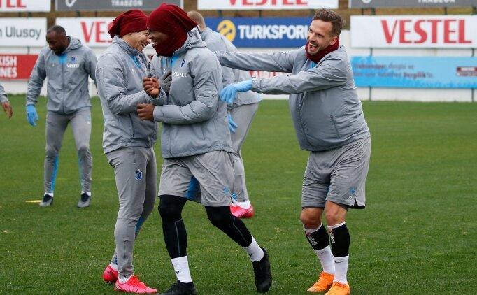 Trabzonspor, Gençlerbirliği hazırlıklarını tamamladı