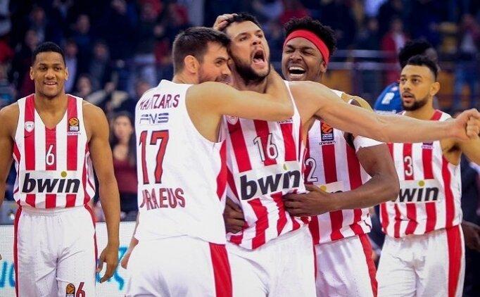 Olympiakoslu basketbolcu koronavirüse yakalandı