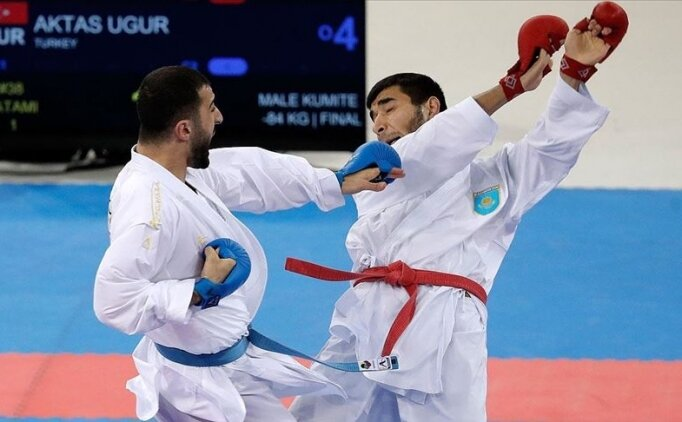 Milli karateciler, 7 madalyayla Paris'te zirvede yer aldı