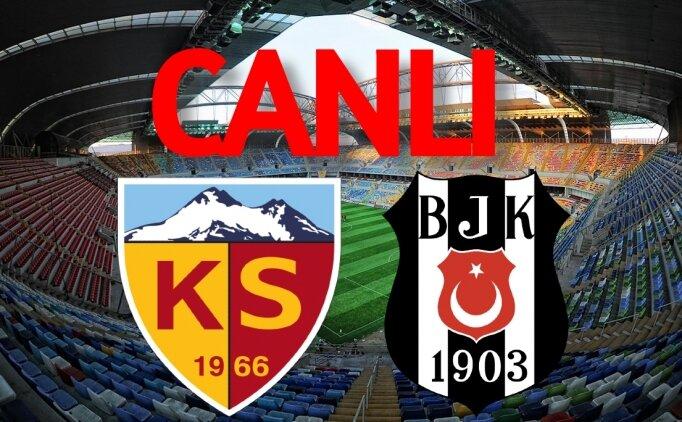 Beşiktaş Kayserispor CANLI İZLE şifresiz, BJK maçı canlı yayın
