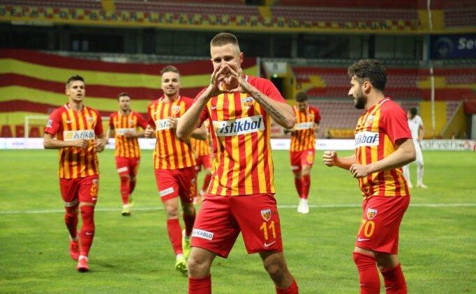 Kayserispor'da Süper Lig için umutlar yeşerdi